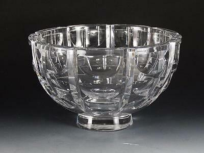 """Orrefors Thousand Windows Glass 8 1/2"""" Bowl - Free Shipping"""