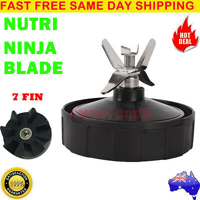 7 Fin Extractor Blade Replacement Suits Nutri Ninja NutriNinja Auto iQ 1300 1500