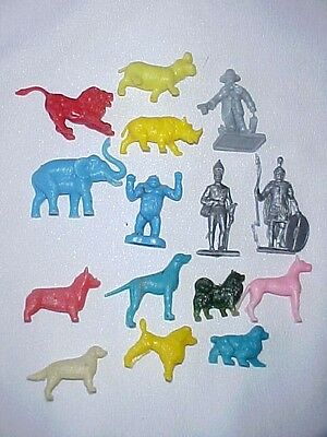 R&l Cereal Toys Dogs Wild African Animals Soldiers Of The World Mixed Lot #2