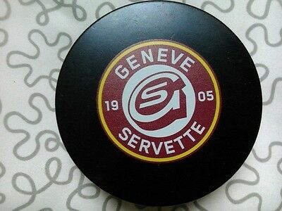 Geneve, Switzerland, Ice Hockey puck
