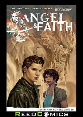 ANGEL and FAITH SEASON 9 VOLUME 4 DEATH AND CONSEQUENCES GRAPHIC NOVEL Paperback