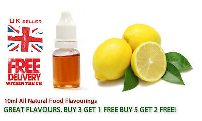 Sicilian Lemon Natural Extract 10Ml - Food Flavouring Cake Baking Flavours