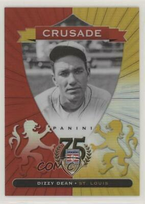 2014 Panini Hall of Fame Crusades Red #25 Dizzy Dean St. Louis Cardinals Card