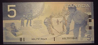 Canada BC-62bA $5 Replacement HOL7919849 - GemUnc