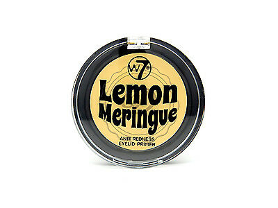 W7 Lemon Meringue - Eyeshadow Primer Base Yellow Anti Redness