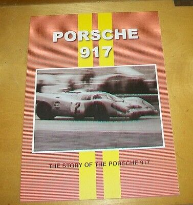 Porsche 917  Road Test Reprint Book Cp Press