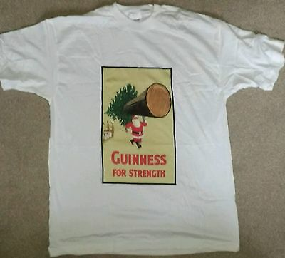 XL Guinness T-shirt with a Christmas slant on the famous Gilroy advertising