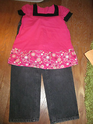 Lovely Girls Outfit 3 4 years. Exc.Cond. LADYBIRD.