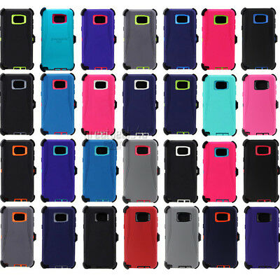 For Samsung Galaxy Note 5 Case Cover & Clip Fit Otterbox Defender Series Rugged