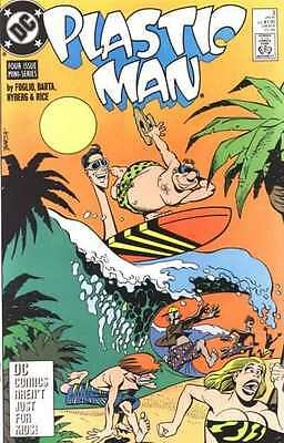 Plastic Man (1988 series) #3 in Near Mint - condition. FREE bag/board
