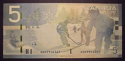 Canada BC-67aA $5 Replacement AOH9946361 - Unc