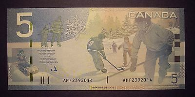 Canada BC-67aA $5 Replacement APF2392014 - ChUnc