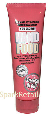 Soap and Glory HAND FOOD Non-greasy Hydrating Hand Cream 125ml Shea Butter