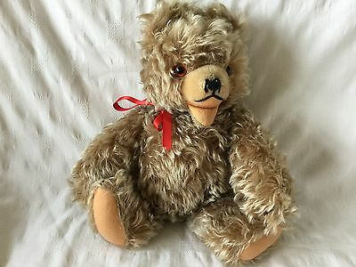 Rare old large  60s vintage Hermann Zotty Teddy Bear .