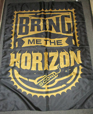 Bring Me The Horizon Texile Poster Flag  Rare New Never Opened Dynamite Shield