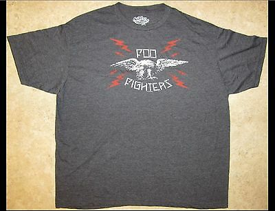 FOO FIGHTERS Adult Size Gray T-Shirt
