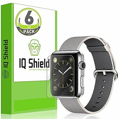 CLEAR 6PK Screen Protector Film Accessories For iWatch 42MM APPLE WATCH 1