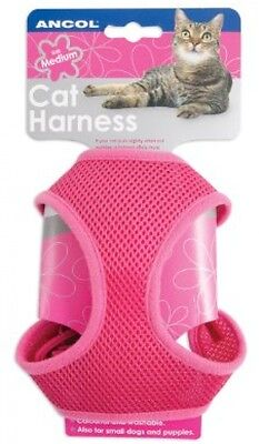 Soft Harness and Lead Pink Small