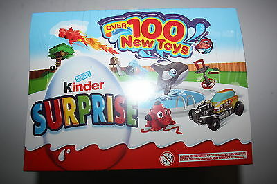 1 Box of Kinder Surprise NEW TOYS 24 pieces box