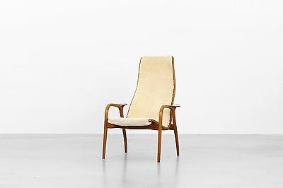 Lamino Easy Lounge Chair by Yngwe Ekström for Swedese Danishdesign Midcentury