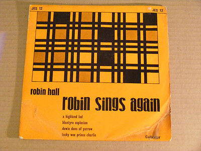 ROBIN HALL Sings Again   Collector UK 1960s P/S EP