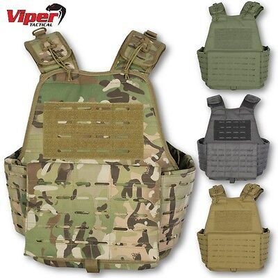 Viper Lazer Platform Molle Webbing Armour Army Military Airsoft Vest Tactical