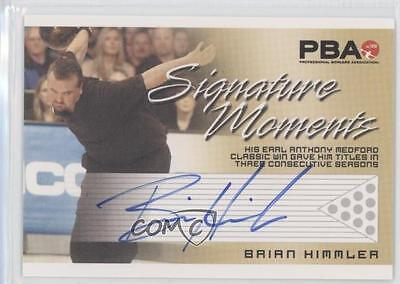 2008 Rittenhouse PBA Signature Moments #BRHI Brian Himmler Auto Bowling Card 0d4