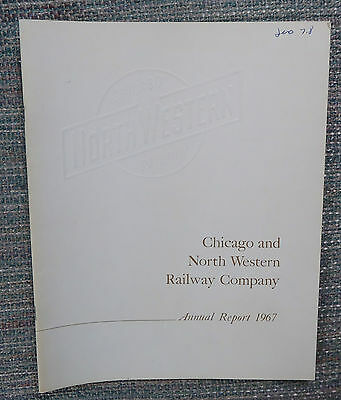 Chicago & North Western Railway 1967 Annual Report