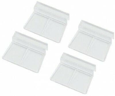 Sourcingmap Aquarium Fish Tank Glass Cover Clip Support Holder, 6 Mm, Pack Of 4