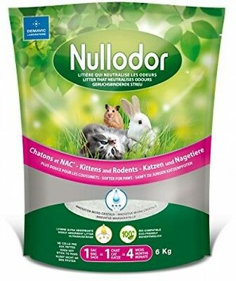 Nullodor Kittens And Rodents, 6 Kg