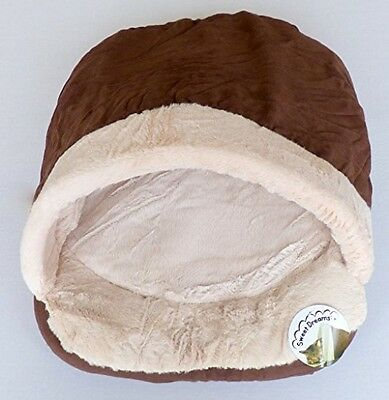 Faux Suede World Of Pets Cat Sleeping Shoe Fleece Lining Non Woven Base