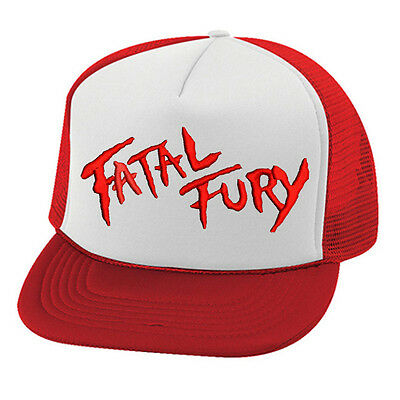 Embroidered Flat brim Fatal Fury Terry Bogard Red Cap Hat Andy King of  Fighters.  14.74 Buy It Now 15d 9h. See Details. Vintage SNK FATAL FURY  trucker cap ... 65b1d7f3d97c