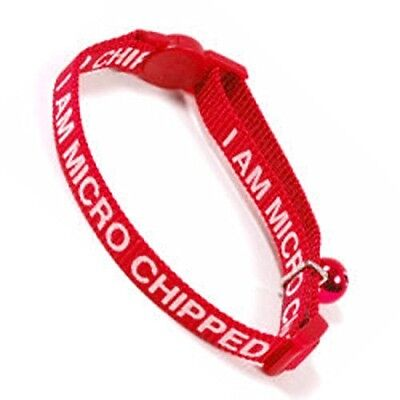 Ancol I Am Micro-Chipped Cat Collar