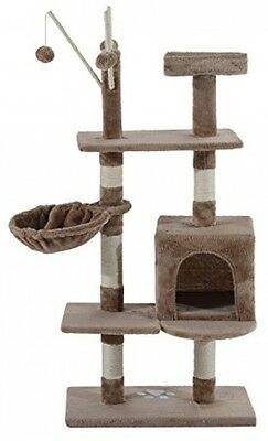 PawHut Cat Tree Kitten Activity Centre Scratch Scratching Scratcher Post Rest