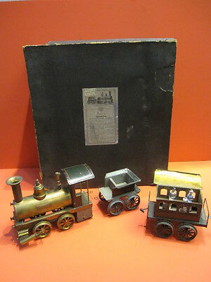 All Original 1895 Live Steam Vulkan Gauge Iii Ernst Planck Boxed Set
