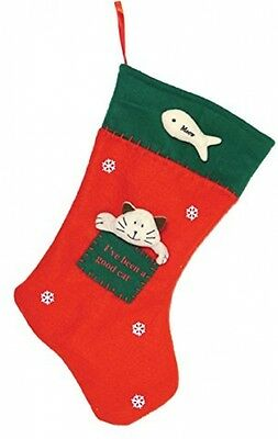Rosewood Christmas Cat Stocking