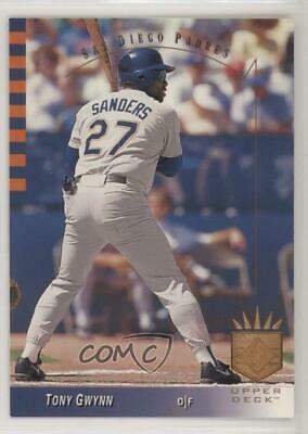 1993 Upper Deck Sp 167 Tony Gwynn San Diego Padres Baseball Card