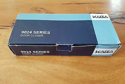 Kaba Door Closer 9024SIL Fire Rated Commercial Grade Back Check Silver