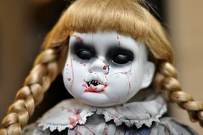 Creepy Scary Porcelain Doll - Felicity, Great Prop or Collectible