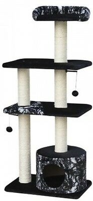 Nobby 63055-52 Canillo Cat Scratching Post Black With Pattern