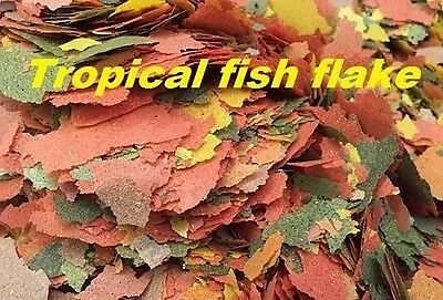 50G, 100G, 200G, 500G, 1Kg Tropical Aquarium Fish Flake Food Feed Water Tank (1