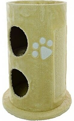 Mool Deluxe Cylinder Cat Activity Centre And Scratching Tree/ Post Pad With 2