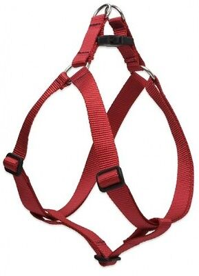 Lupine Step-In Harness For Medium Dogs, 3/4-inch/ 20 - 30-inch, Red