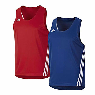 adidas Base Punch Competition Singlet Pack – 1 Red & 1 Blue