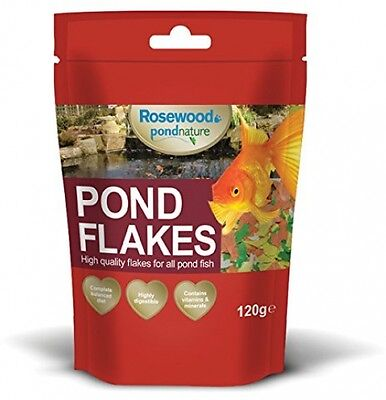 Rosewood Pond Nature Pond Flakes, 120 G