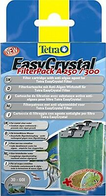 Tetra 243040 EasyCrystal A 250/300 Filter Cartridge With Anti-Algae Agent 60 Ml
