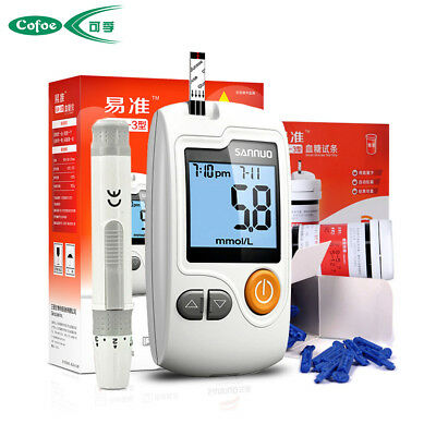 Sannuo medical Blood Glucose no coding monitoring system meter  strips & Lancets