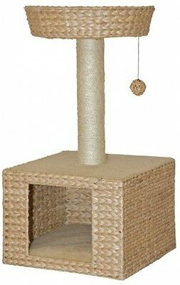 Nobby 63026-02 Bess Cat Scratching Post Beige Water Hyacinth