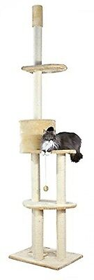Trixie 43851 Santiago Scratching Post Floor-to-Ceiling 243 - 280 Cm Beige