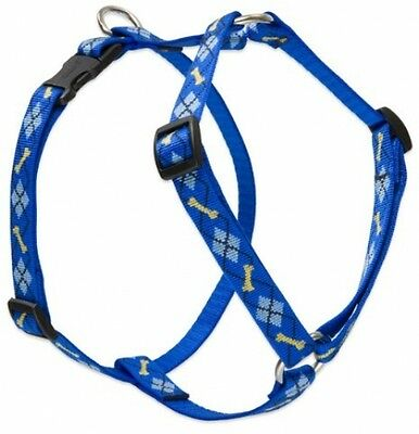 Lupine Dapper Dog Patterned Roman Harness For Medium Dogs, 3/4-inch/ 20 -